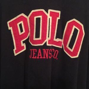 Vintage Polo Jeans Hoodie - from late 90s.